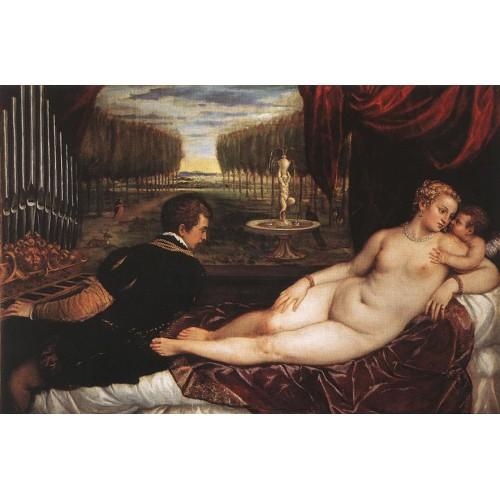 Venus with Organist and Cupid