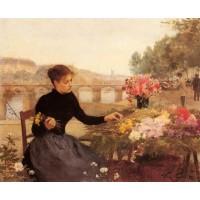 A Parisian Flower Market