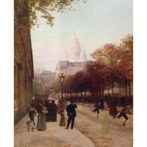 Place D'Anvers Et Le Sacre Coeur Paris