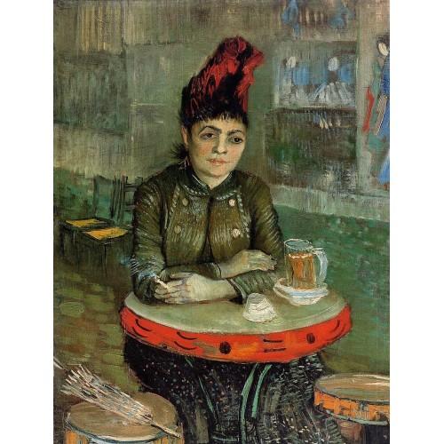 Agostina Segatori Sitting in the Cafe du Tamourin
