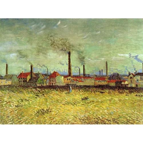 Factories at Asnieres Seen from the Quay de Clichy