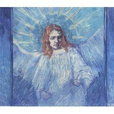 Half Figure of an Angel