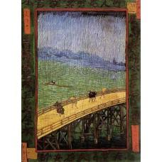 Japonaiserie Bridge in the Rain