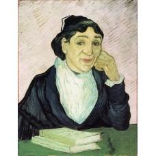 L arlesienne portrait of madame ginoux