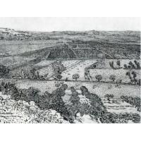 La crau seen from montmajour