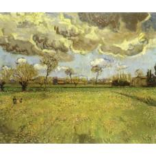 Landscape under Stormy Skies
