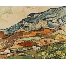 Les Alpilles Mountainous Landscape near Saint Remy