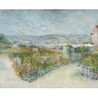 Montmartre achter de moulin de la galette