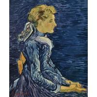 Portrait of adeline ravoux 2