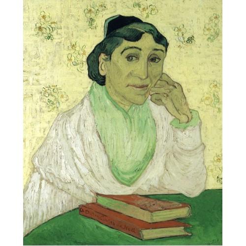 Portrait of madame ginoux l arlesienne