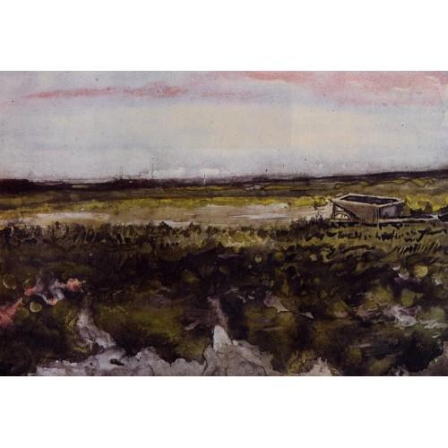 The Heath with a Wheelbarrow