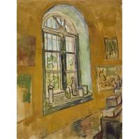 Window of vincent s studio at the asylum