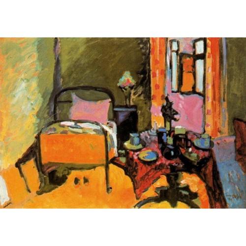 Bedroom in aintmillerstrasse