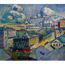 Moscow zubovskaya square study