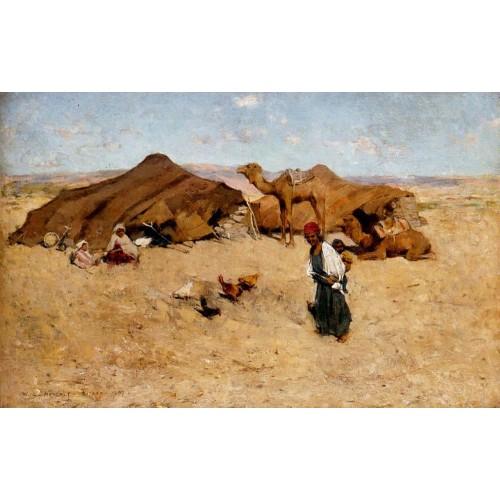 Arab encampment biskra