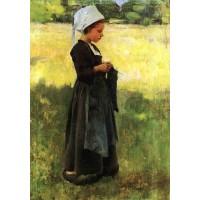 Breton girl