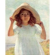 Child in sunlight