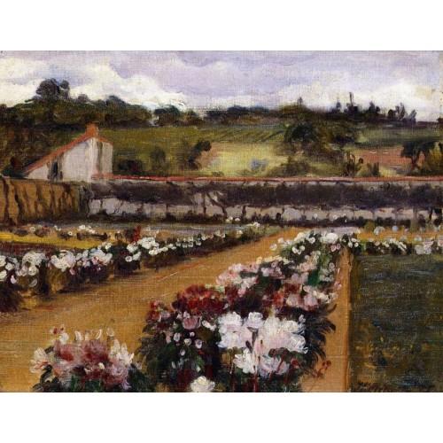 Monet s formal garden 1886