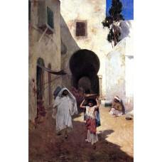 Street scene tangiers
