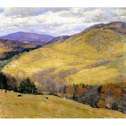 Vermont hills november