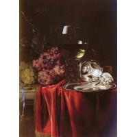 A Still Life of Grapes
