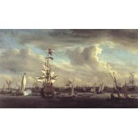 The Gouden Leeuw before Amsterdam