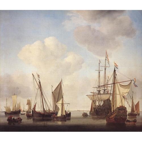 Warships at Amsterdam