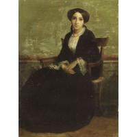 A Portrait of Genevieve Bouguereau
