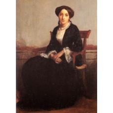 Portrait of Genevieve Celine