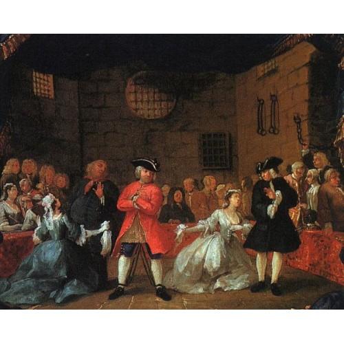 A Scene from the Beggar's Opera