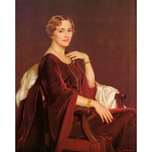Portrait of Mrs Charles Frederic Toppan