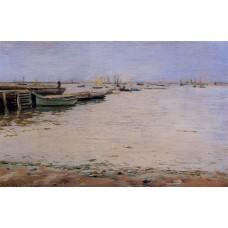 Misty Day Gowanus Bay