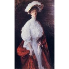 Portrait of Miss Frances V Earle