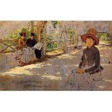 Women under Trellis