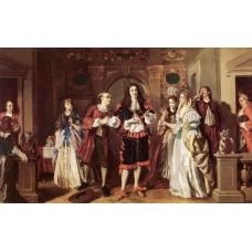 A scene from Moliere's L'Avare
