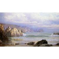 Seascape Along the Cliffs