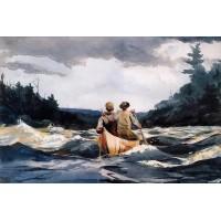 Canoe in the Rapids