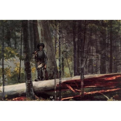 Hunter in the Adirondacks