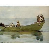 Seven Boys in a Dory