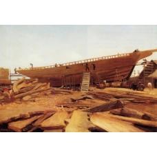 Shipbuilding at Gloucester