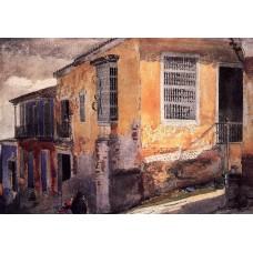 Street Corner Santiago de Cuba