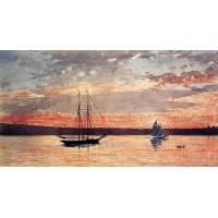 Sunset at Gloucester