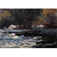 The Rapids Husdon River Adirondacks