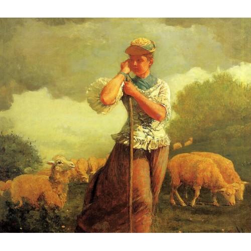 The Shepherdess of Houghton Farm