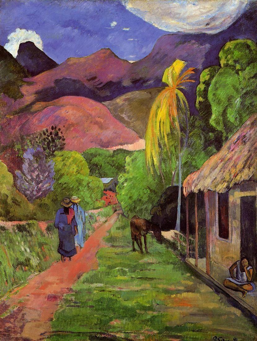 Paul Gauguin -  Te Poipoi (le matin) , Tahiti 1892
